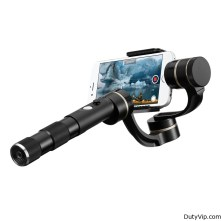 Estabilizador manual de tres ejes G4 Pro Gimbal de Feiyu Tech para el iPhone