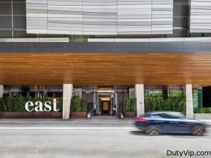 Entrada al Hotel East Miami