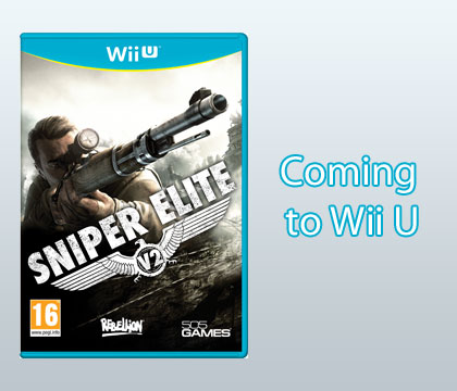Sniper Elite V2 coming to Wii U