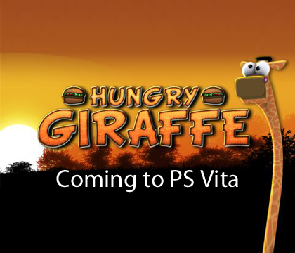 Hungry Giraffe is coming to Vita this Wednesday in Europe