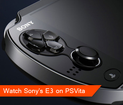 Watch the Sony E3 press conference on your PS Vita