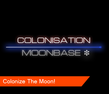 Colonize The Moon? Now you can!