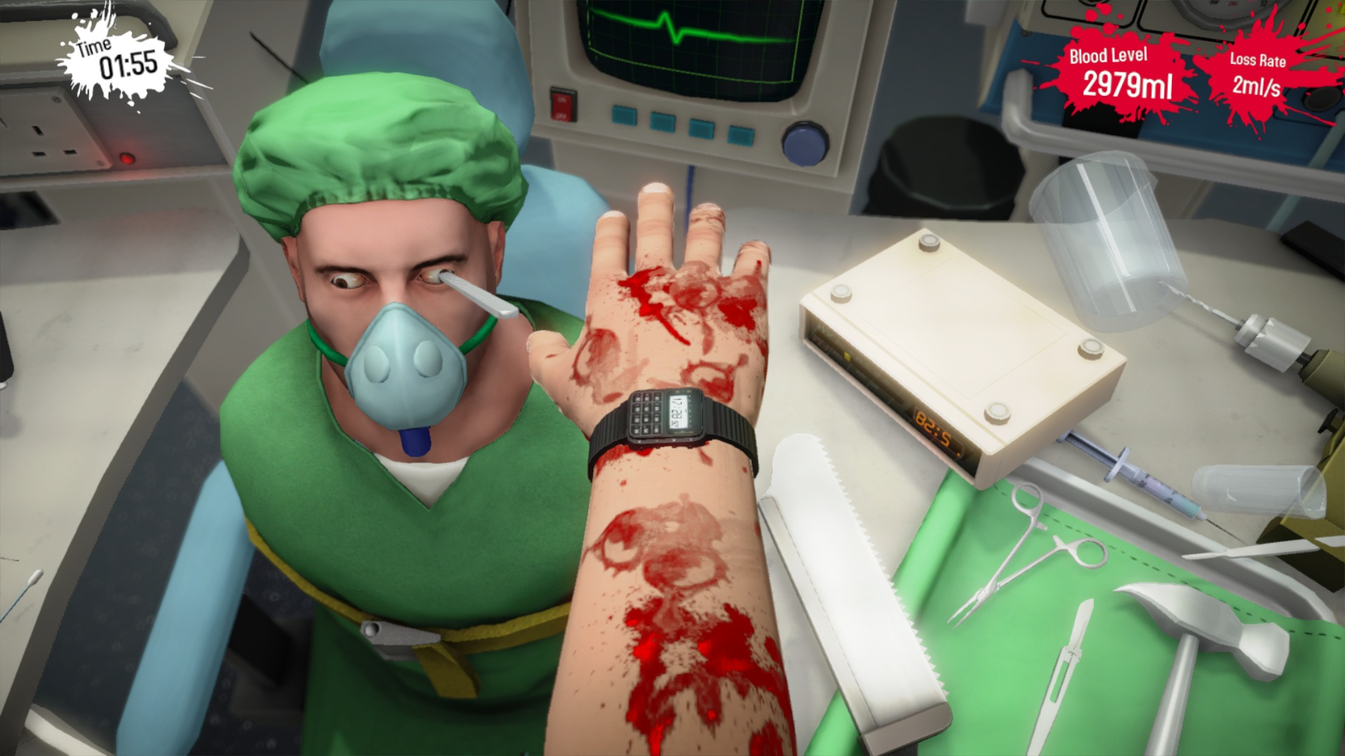 Surgeon Simulator PS4 Edition Review