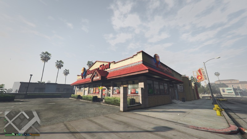 Working Restaurants v1.0.2 Mod for GTAV