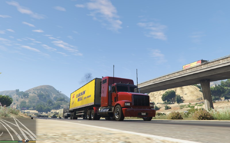 Trucking Missions 1.4 Mod for GTAV