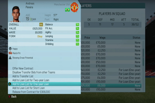 FIFA 16 Man Utd Career Mode Guide