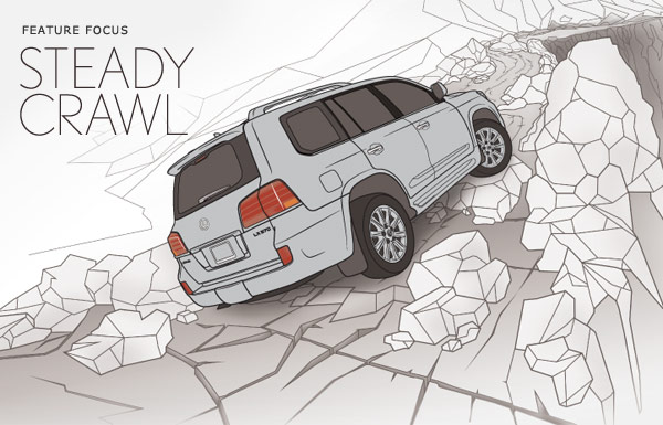 Technology's Help- Driving in Rocky Terrain