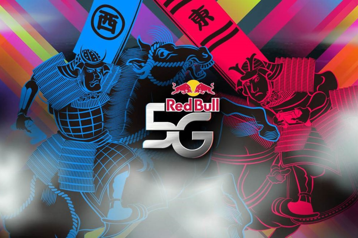 RED BULL 5G HEADS TO THE UK