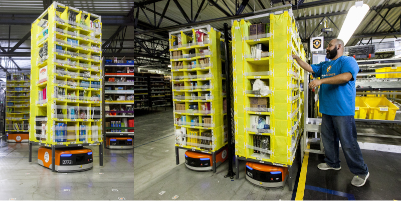 Ecommerce Storage and Present-Day Robotics