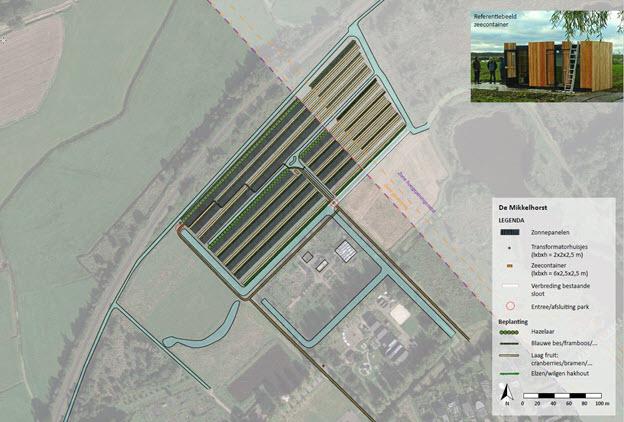 Ontwerp Polycultuur Zonnepark De Mikkelhorst