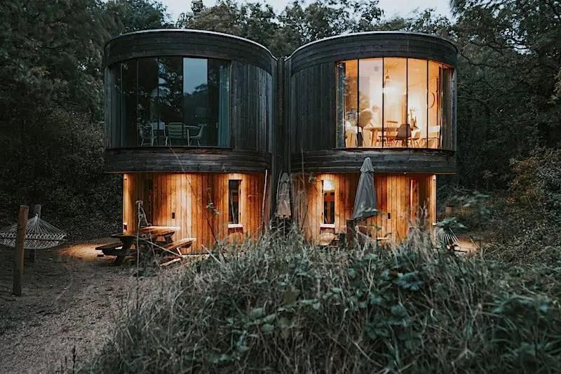 vakantiehuisje boomhuis