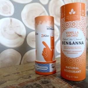 Duurzame natuurlijke deodorant