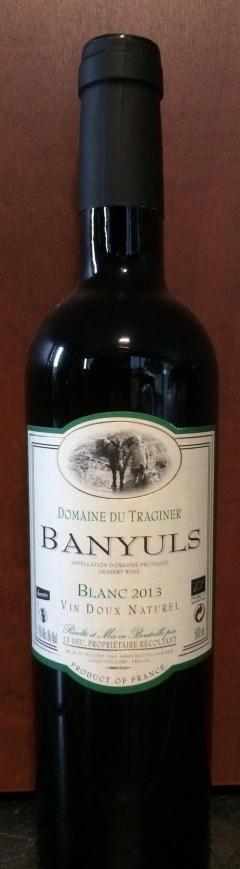 Banyuls Blanc 2015 - Traginer