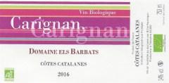 Carignan 2016 - Els Barbats