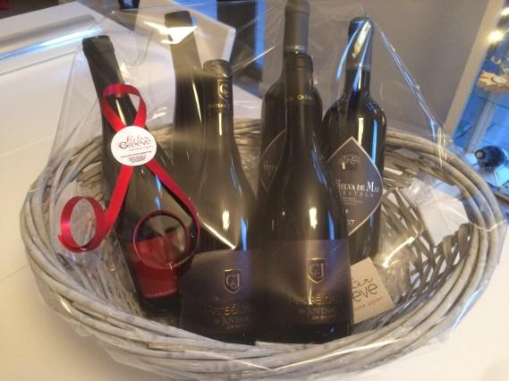 geschenkpakket duurzame wijnen