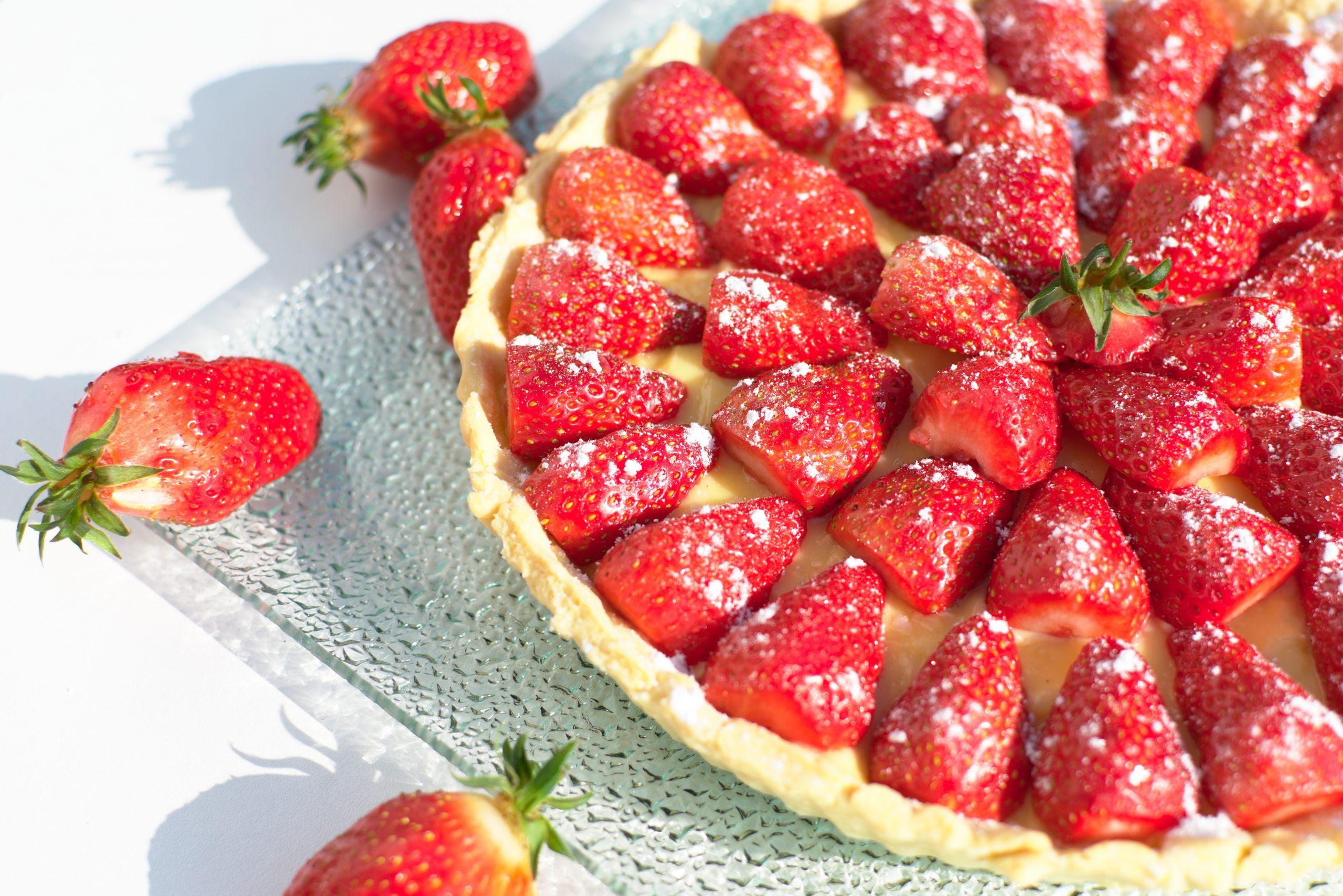 Tarte aux fraises de Plougastel