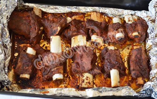 Телячьи ребрышки в духовке - рецепт с пошаговыми фото