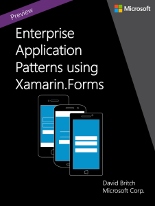 Developing Enterprise Apps using Xamarin.Forms