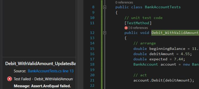 Phần 1: Cách viết Unit Test trong C#