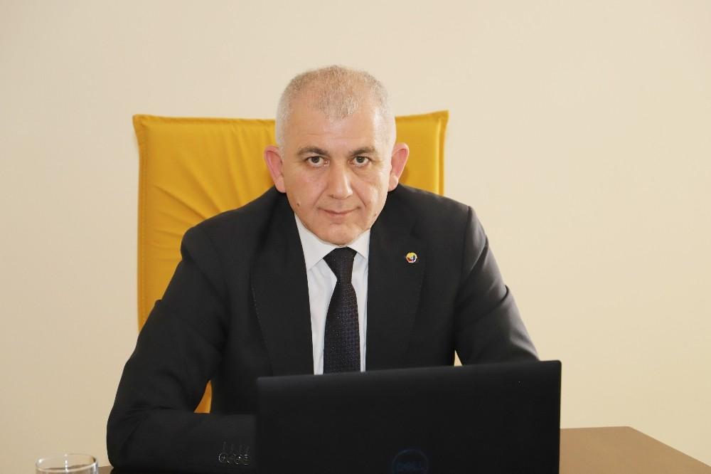 """DTSO Başkanı Şahin, """"İhracatta rekor seviyeye ulaştık"""""""