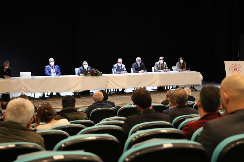 Düzce'de ki fabrika yetkilileri ile toplantı yapıldı