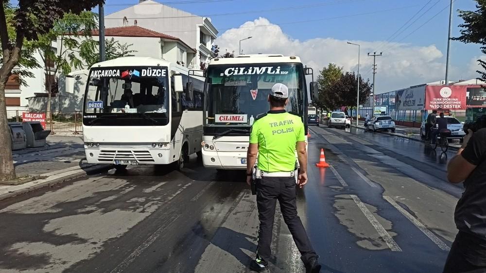 Düzce'de pandemi kurallarına uymayan 22 sürücü cezalandırıldı