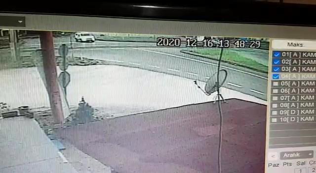 Düzce'de 1 kişinin öldüğü ambulans kazasının görüntüleri ortaya çıktı