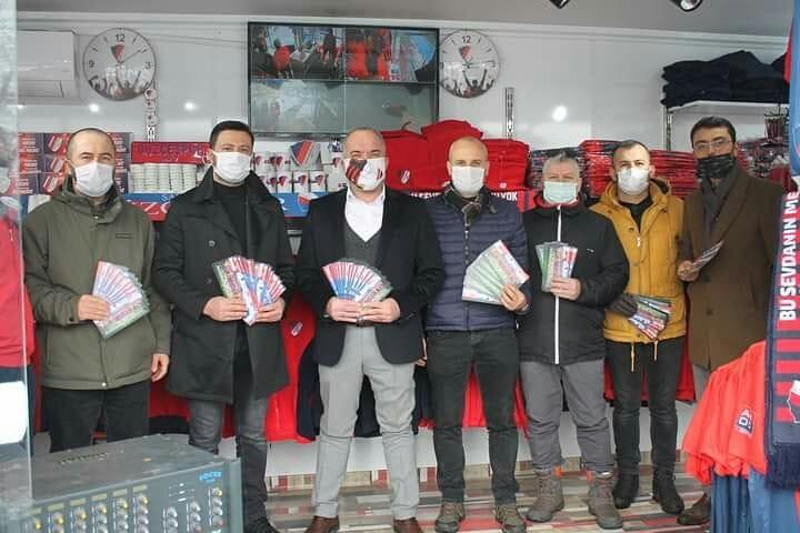 Düzcespor'a MÜSİAD'dan destek