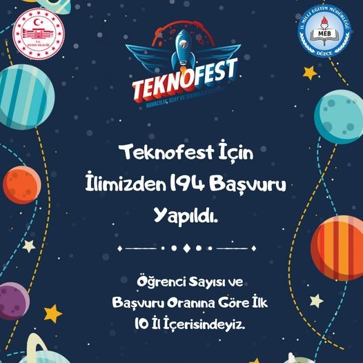 Teknofest'te Düzce rüzgarı esecek