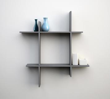 Mensole da parete triangolari in legno massello di castagno, per una soluzione pratica. Mensole Di Design Scaffali E Librerie Moderne Duzzle