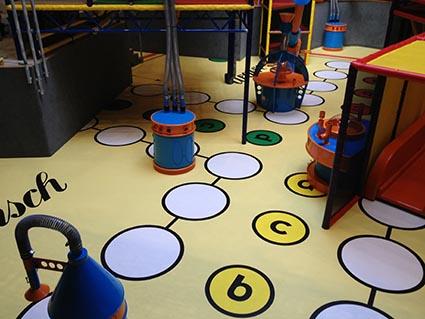 rubber flooring safety fall de valier 3