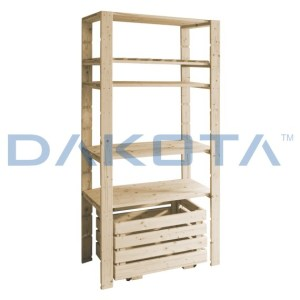 cOMBO SHELVING WOOD SHELF