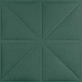 Triangles -musk green