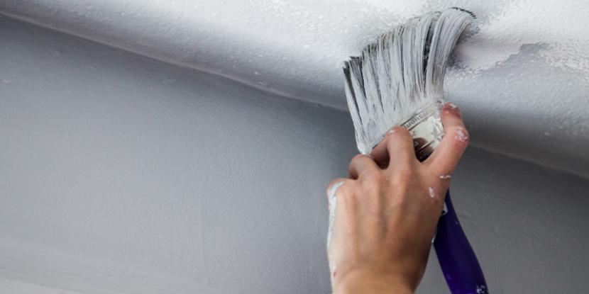 removing stains on walls and ceilings