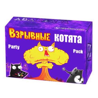 Взрывные котята. Подарочный набор. 2 дополнения — Сингулярные котята, Шустрые котята.