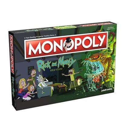 Монополия: Рик и Морти (Monopoly Rick and Morty)