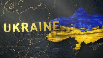 В Казахстане нарисовали карту Украины без Крыма