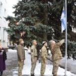В Херсоне подняли флаг ВМС в поддержку пленных моряков