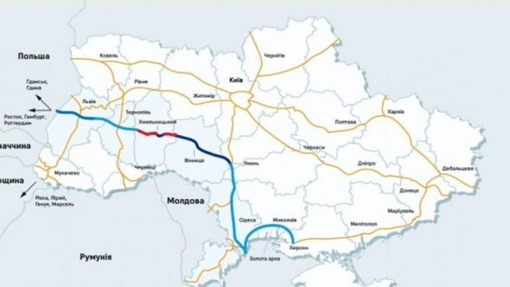Евросоюз может профинансировать ремонт дороги Херсон-Бердянск-Мариуполь