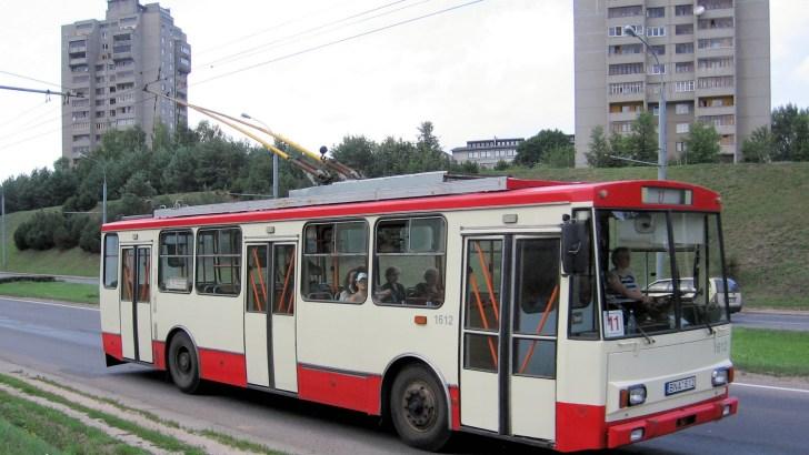 Херсон купил два подержанных чешских троллейбуса