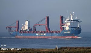 В Черное море вошел корабль с подаренными США катерами для ВМС Украины