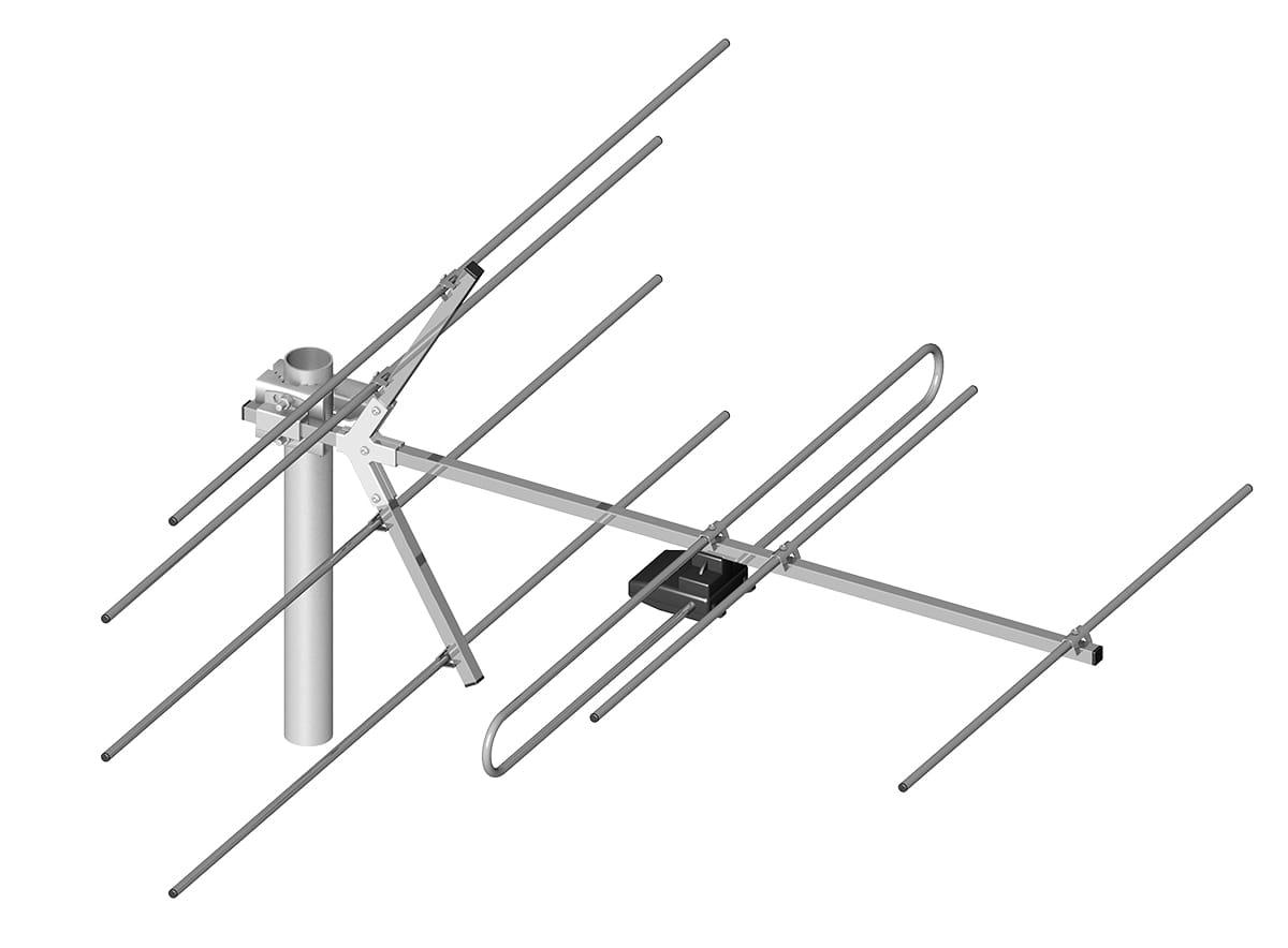 Antena Dipol 7 5 12 Dvb T Vhf Mux