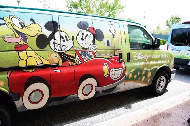 Disney Vacation Club Van Transportation