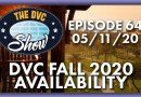 DVC Fall 2020 Availability