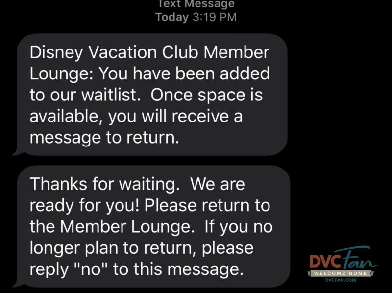DVC Member Lounge