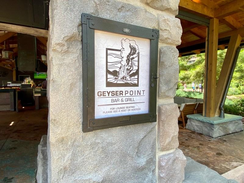 Copper Creek - Geyser Point