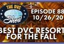 Best DVC Resort for the Fall