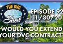 Would You Extend Your DVC Contract