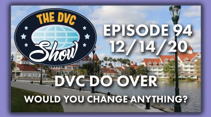 DVC Do Over