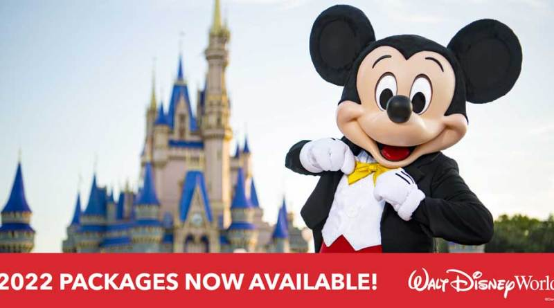 2022 Walt Disney World Vacation Packages